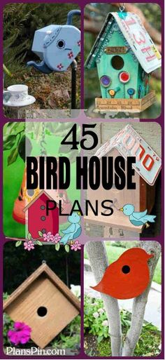 New woodworking plans free wood projects bird houses 47 ideas Bird House Plans Free, Bird House Kits, Free Birdhouse Plans, Birdhouse Ideas, Arts And Crafts For Adults, Easy Arts And Crafts, Woodworking Plans, Woodworking Projects, Woodworking Patterns