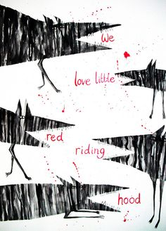 We love Little Red Riding Hood by Hazel Terry, via Flickr