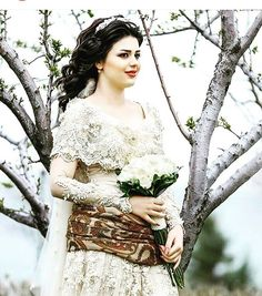 Gorgeous Kurdish Girl in beautiful traditional Dress.