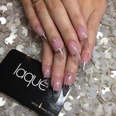 """""""Clear claws #laque #laquenailbar #getlaqued"""""""