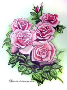 Roses by Liuanta on DeviantArt