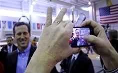 33 #prezpix #prezpixrs election 2012 candidate: Rick Santorum publication: abc news photographer: AP Photo publication date: 3/9/12