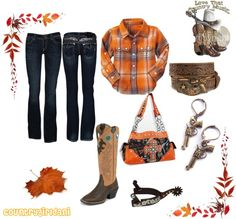 """Orange cowgirl"""