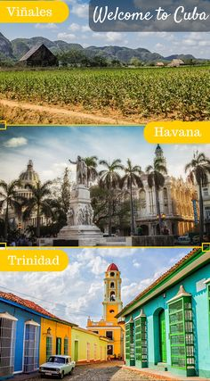 Two Week Cuba Itinerary: 14 Days in Cuba. Cuba is a surprisingly huge island and while two weeks may seem like a long time to visit an island, you will find yourself hard pressed to cover even half in that number of days. Click to read the full travel blog post at http://www.divergenttravelers.com/two-week-cuba-itinerary/