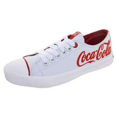My two loves have finally met! Converse+coca-cola