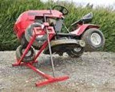 Photo location leve tracteur tondeuse