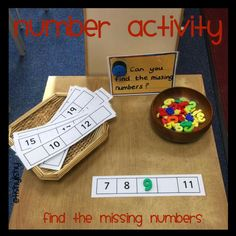 Number - find the missing numbers. Could use this with double digit numbers too - Tap the pin if you love super heroes too! Cause guess what? you will LOVE these super hero fitness shirts! Ks1 Classroom, Year 1 Classroom, Year 1 Maths, Early Years Maths, Early Math, Early Learning, Maths Eyfs, Numeracy Activities, Teaching Math