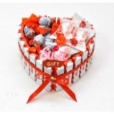Торт из конфет Киндер Раффаэло