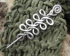 Celtic Braid Shawl Pin