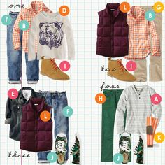 Cardigan Empire: Back to School for Boys in 13 Items