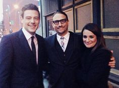 Lea Michele and Cory Monteith at a Wedding in March 2013