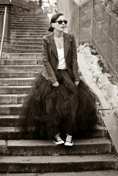 FULL LEGTH BLACK tutu skirt - 8 layers sewn tutu - Custom - Black tulle skirt - Adult tutu skirt - Girl black tulle skirt - Flower girl tutu in 2020 Long Black Tulle Skirt, Long Tutu Skirt, Adult Tutu Skirts, Baby Skirt, Look Fashion, Fashion Outfits, Emo Outfits, Stylish Outfits, Robes Tutu