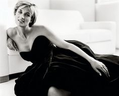 The stunning Princess Diana
