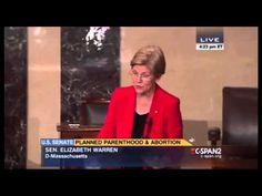 Watch Elizabeth Warren's Speech in Defense of Planned Parenthood   TIME