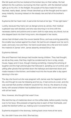 Euphemia and her boys - James and Sirius part 3. Pinned by @lilyriverside