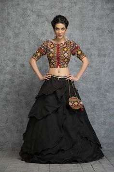 Blouse Designs To Pair With Your Ethnic Skirts