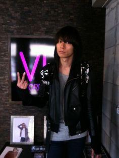[Champagne]2012/3/4 「VIZ STORE-TOKYO」[ VIRGO ]先週はこんな方がVIZに遊びに来てくれました。 堀洋平/ Product Management