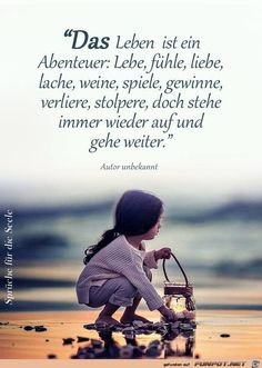 Bildergebnis für kinder.sprüche abschied glück German Quotes, Affirmations, True Quotes, Best Quotes, Favorite Quotes, German Language, Poetry Quotes, True Words, Kids And Parenting