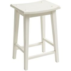 Lawson Backless Counterstool - Antique White