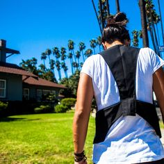 Vest, sun and Palm trees in LA!!