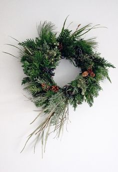 Wreath-making with Ruby & The Wolf   These Four Walls blog