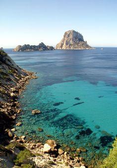 De prachtige natuur van Ibiza