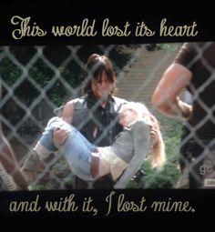 Daryl and Beth's last walk - The Walking Dead Season 5