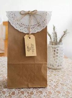 f55ca5aea 15 mejores imágenes de bolsas de papel madera | Gifts, Paper ...