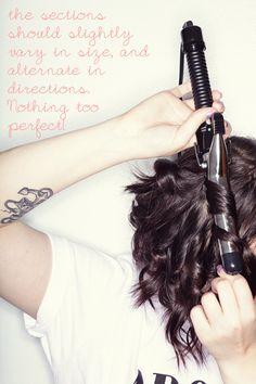 Wavy Hair Tutorial (For Short Locks)