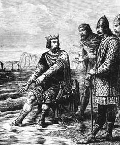 English King Canute of England, of all Denmark, of all Norway, and also of Scotland.