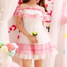 SWEET WORD LACE LACE DRESS from 【YOUVIMI】 Use Discount Code 'creepycutie' for 10% off!