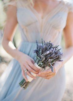 Lavender wedding bridal bouquet