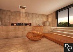 Private Spa_Interior Design_Rendering_View 1