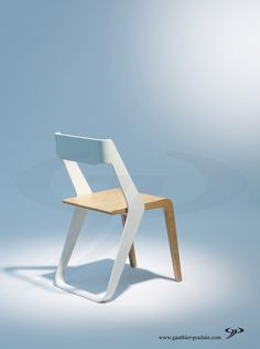 "Chair ""RUBAN"" Gauthier Poulain"