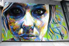 David Walker - street art - Paris 13 - rue Hélène Brion