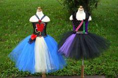 Mal or Evie descendants costume dress. Mal dress Evie dress