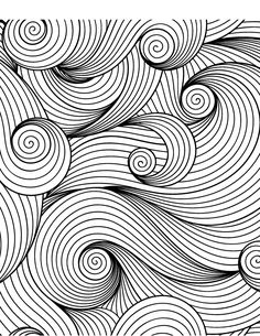 Calming Patterns for Adults Who Color - Live Your . Calming Patterns for Adults Who Color – Live Your Life in Color Series – Coloring Book Zone Artist Markers, Doodle Patterns, Zentangle, Pattern Coloring Pages, Tattoo Pattern, Abstract Coloring Pages, Zentangle Patterns, Color Of Life, Color