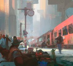 The Art Of Animation, Theo Prins ... Everyone's waiting for something ...