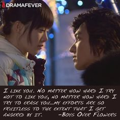 See Gu Hye Sun and Lee Min Ho in Boys over Flowers, one of the most popular K-dramas of all time