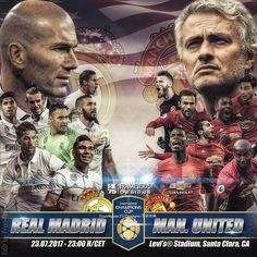 #Matchday  @realmadrid Vs Manchester United  International Champions Cup 2017  Levi's Stadium Santa Clara CA  23.07.2017  23:00 H/CET  Tag your friends  edit by @fran4ever75