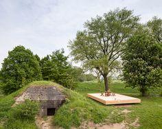 Bunker convertido en Casa de Vacaciones