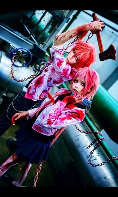 Mirai Nikki yuno cosplay
