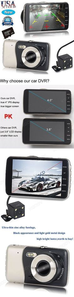 Other Car Video: Hd 1080P Dual Lens Night Vision Vehicle Car Dvr Dash Cam Video Recorder Camera -> BUY IT NOW ONLY: $65.95 on eBay!