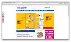 Leenbakker is net als Ikea een bijna alles winkel met veel verschillende producten. De prijzen zijn iets goed koper.