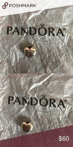Princess pink pandora heart charm Princess pink charm Pandora Jewelry Bracelets