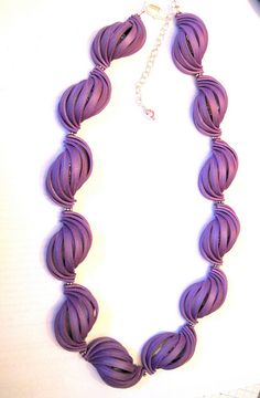 Polymer Clay Blackburn Moebius Necklace | Flickr - Photo Sharing!