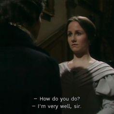 """Jane Eyre 1983 """"HOW DO YOU DO?"""""""