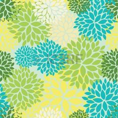Floral seamless pattern photo