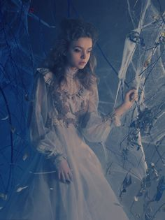 Beautiful in Soft Blue ✩ Fairytale Fashion Photography ✩ Untitled by Katerina Plotnikova on 500px