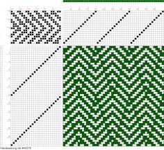 draft image: 16537, 2500 Armature - Intreccio Per Tessuti Di Lana, Cotone, Rayon, Seta - Eugenio Poma, 16S, 24T